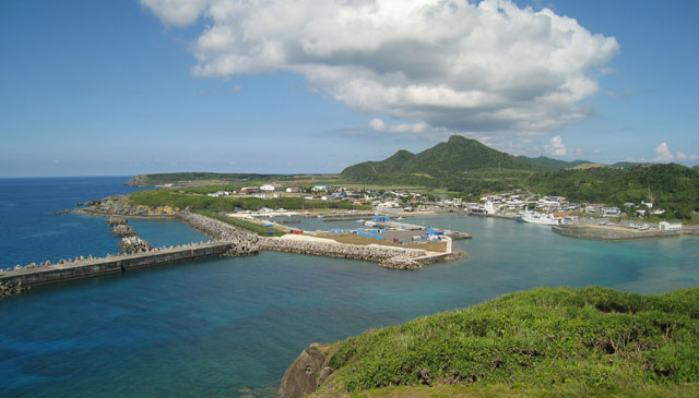 日本の最西端・与那国島にやってきました!「3日で5島、よう巡れたね!?」と地元の方。