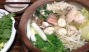 鍋にたよる夜>野菜・肉・魚。最強バランス。