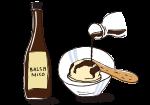 【浜内先生はバルサミコ酢をどのように使っていますか?】<br>バルサミコ酢がつい余って古くなってしまうことが多いです。ドレッシング以外の活用方法を教えてください。