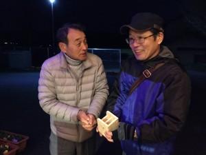 自治会長と松本さん